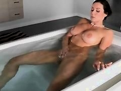 Threesome action with very hot babes