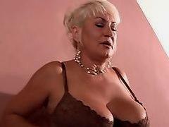Hot MILF gets cock