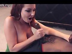 White Girl Suck & Bust