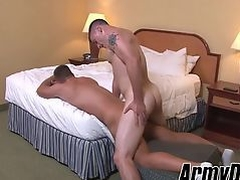 Big dick Princeton and Craig hammering hard and barebacking