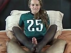 Wife Giving Footjob After Losing A Bet