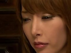 Cheating Japanese milf facialized