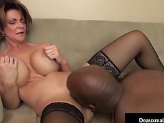 Milf Boss, Deauxma, Can't Fire Her Best Worker's Black Cock!