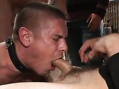 cock tortured and mouth fucked